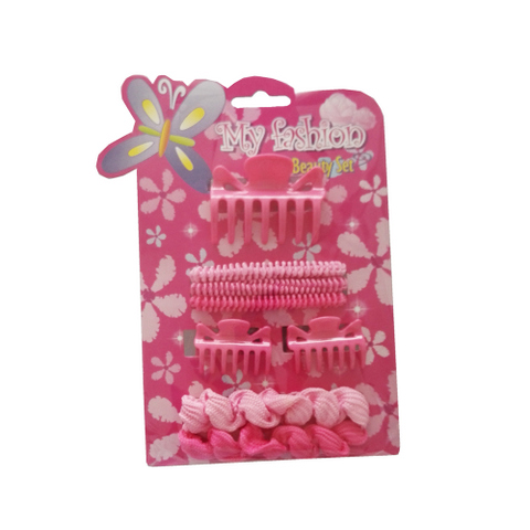 8pcs Kids Hair Accessories Set With Display Box.