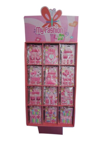 Hair Accessories Set With Display Box Yellow