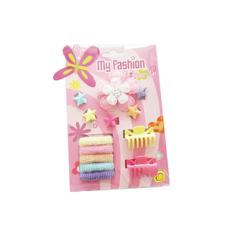 Hair Accessories With Display,Yellow 8