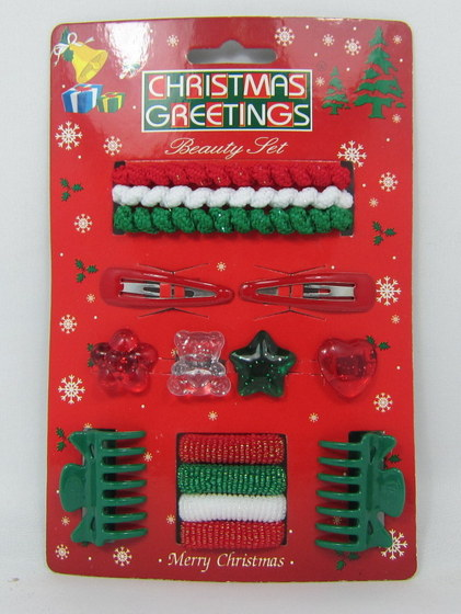 Christmas Hair Accessories With Display 01
