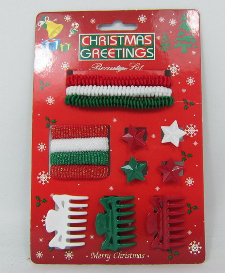 Christmas Hair Accessories With Display Stand Box 06