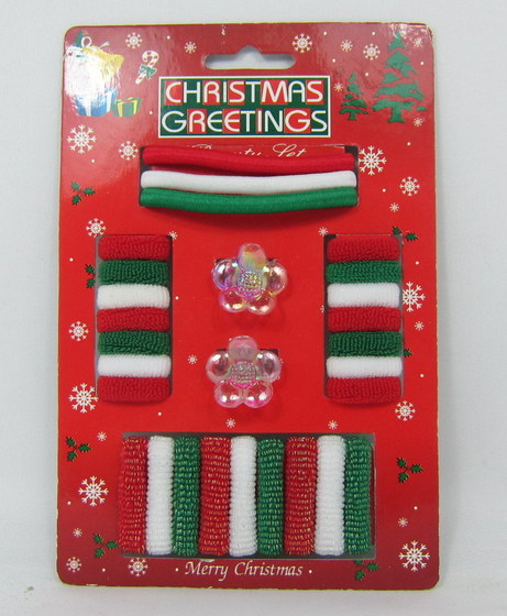 Christmas Hair Accessories With Display Stand Box 08