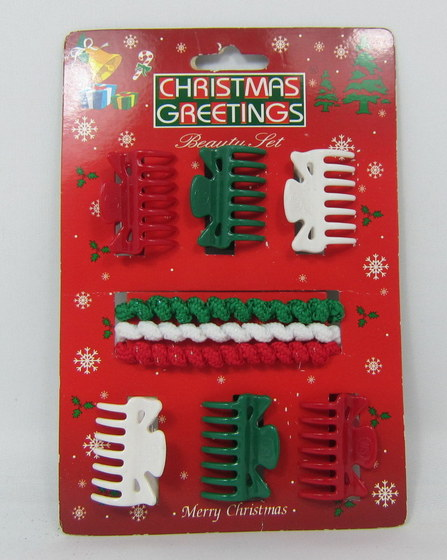 Girls Christmas Hair Accessories 12