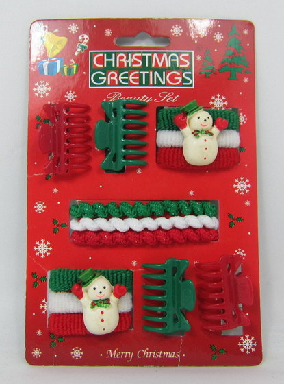 Christmas Hair Accessories Set 18