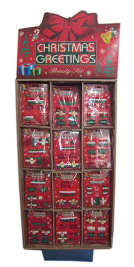Christmas Hair Accessories With Display