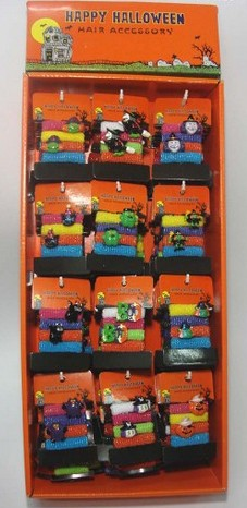 Halloween Hair Accessories with Display
