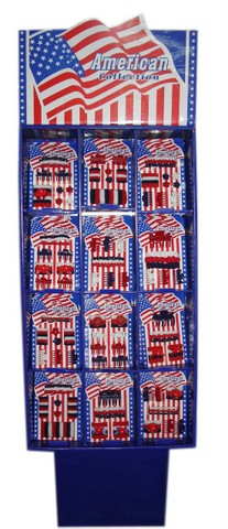 Hair Accessories Set With Display Box American Independence Day