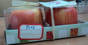 apple fragrance candles