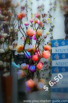 artificial flowers yiwu