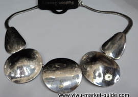big alloy necklace
