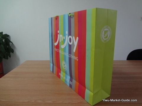 big paper shopping bags with logo printing
