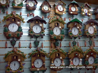 bird coming out wall clocks wholesale