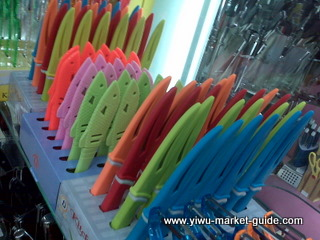 bright color fruit knives wholesale yiwu china