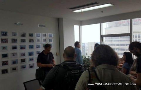 buyer group tour Yiwu agent office