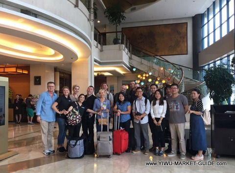 buyers group tour Yiwu hotel