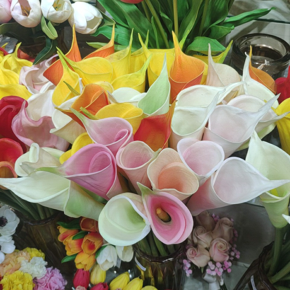 Calla lily flowers real touch (PU), Yiwu China