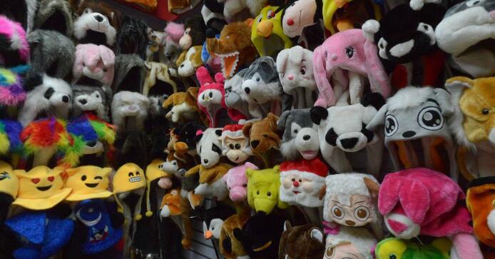 carton-animal-hats-yiwu-maket