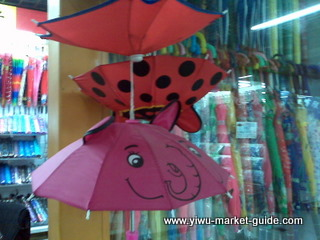 cartoon kids umbrella wholesale yiwu china