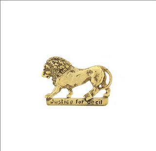 cecil the lion pendant