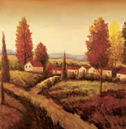 cheap oil painting scenery