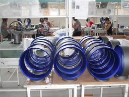 A bladeless fan factory in Ningbo