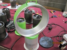 china bladeless desk fan factory