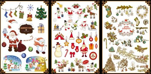 Christmas-tattoo-wholesale-yiwu-china