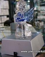 crystal angel led