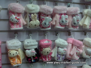 cute girls gloves wholesale