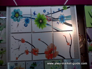 decorative picture wall clocks wholesale