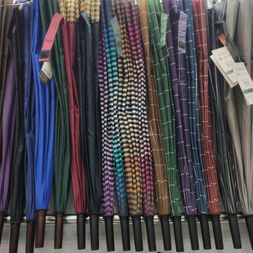 Umbrellas suitable for dollar stores are wholesaled in Yiwu Futian market, umbrella section