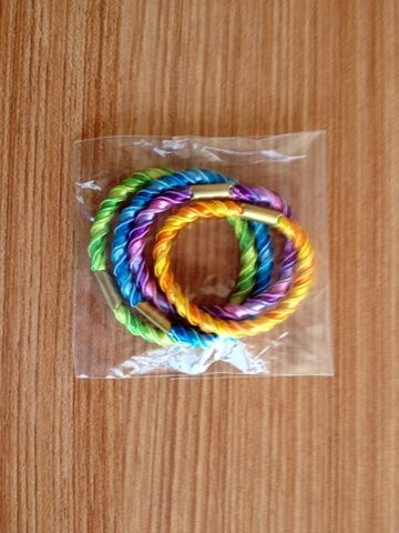 dual color hair band for shampoo promotion