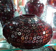 glass vase bling wholesale china