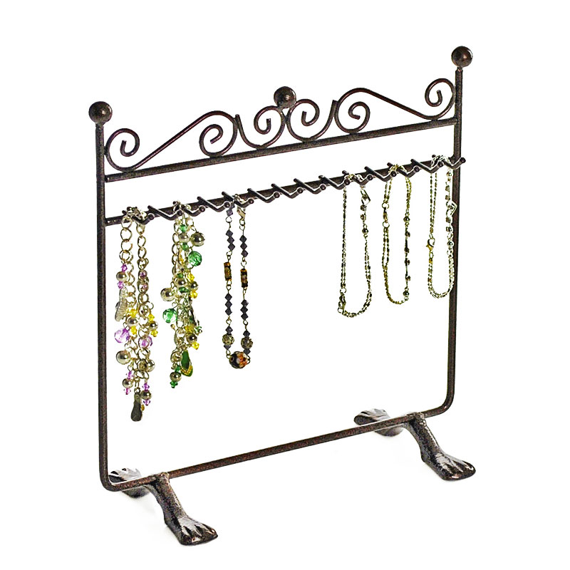 hanging metal bracelet display