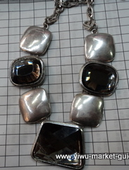 heavy alloy necklace