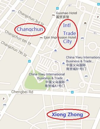 Jewelry parts, findings and accessories wholesale market Yiwu China