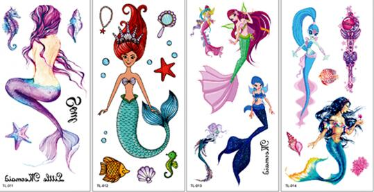 mermaid-tattoo-wholesale-yiwu-china