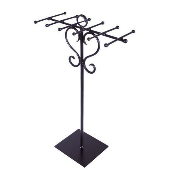 metal necklace stand
