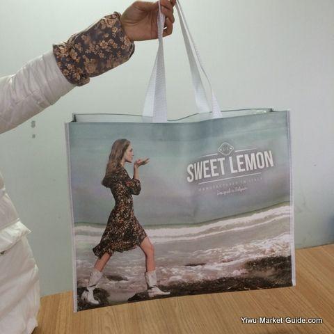 non woven shopping bag water proof
