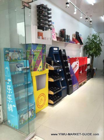 Paper Displays in Yiwu China