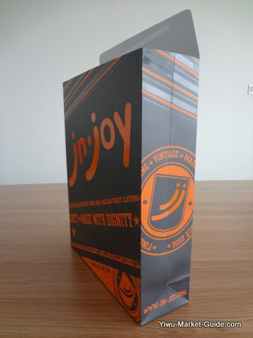 paper gift bag with logo printing