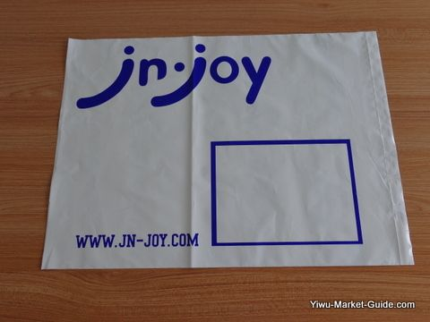 poly mailer with logo printing