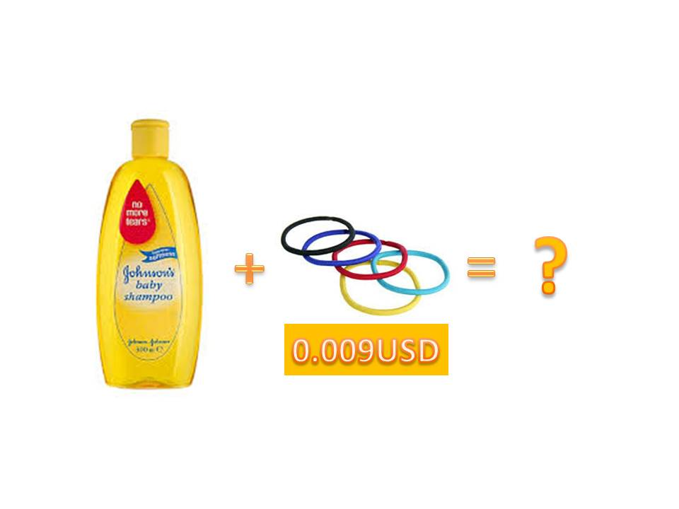 promotional hair band for shampoo