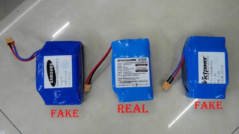real Samsung battery VS fake
