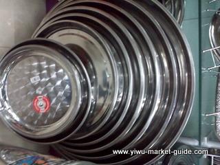 round metal tray wholesale yiwu china