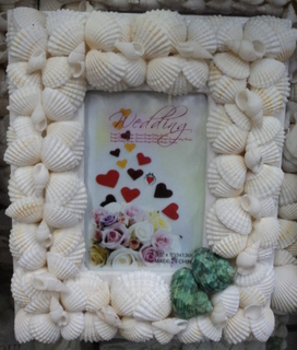 shell picture frames