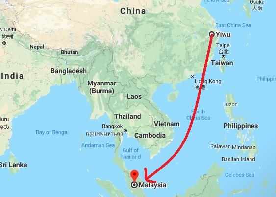 shipping yiwu to Malaysia