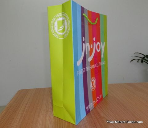 small paper shopping bags with logo printing