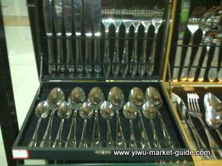 spoon knife fork set wholesale yiwu china