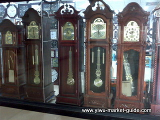 tall grandfather clocks wholesale in Yiwu market